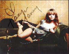 TARYN MANNING HAND SIGNED 8x10 COLOR PHOTO+COA     HOT POSE ORANGE IS NEW BLACK