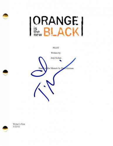 Taryn Manning Signed Autograph - Orange Is The New Black Pilot Script -uzo Aduba