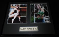 Taryn Manning Signed Framed 16x20 Photo Set JSA Orange Is the New Black