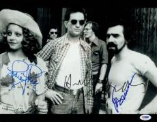 Taxi Driver Signed 11x14 Photo Robert Deniro/Jodie Foster/Scorsese (PSA/DNA) LOA