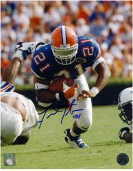 "Fred Taylor Florida Gators Autographed 8"" x 10"" Photograph"