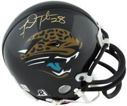 Fred Taylor Jacksonville Jaguars Autographed Riddell Mini Helmet
