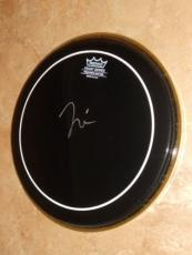 """Taylor Hawkins Foo Fighters Signed In-person Rare! 10"""" Remo Drumhead Autographed"""