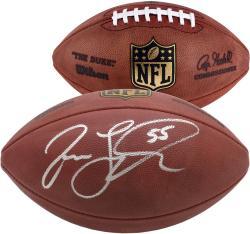 Washington Redskins Jason Taylor Signed Football