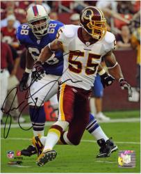 Autographed Jason Taylor Photo - Washington Redskins 8x10 Mounted Memories
