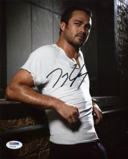 Taylor Kinney Chicago Fire Signed 8x10 Photo Psa/dna #y32145