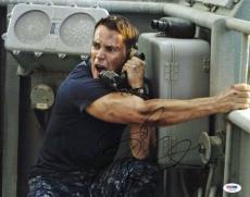 Taylor Kitsch Battleship Signed 11X14 Photo PSA/DNA #V29240