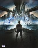 Taylor Kitsch Peter Berg +2 2012 Battleship Cast Signed 11x14 Photo PSA/DNA COA