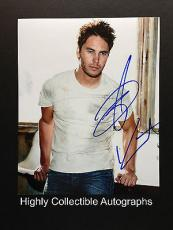 Taylor Kitsch Signed 8x10 Photo Autograph Lone Survivor Friday Night Lights