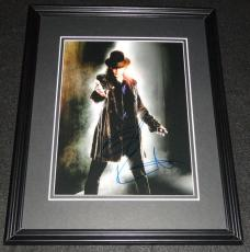 Taylor Kitsch Signed Framed 8x10 Photo AW X Men Gambit