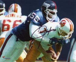"Lawrence Taylor New York Giants Autographed 8"" x 10"" QB Sack Photograph"