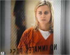 Taylor Schilling hand Signed Autograph 11x14 Photo Orange is New Black GA766798