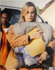 Taylor Schilling hand Signed Autograph 11x14 Photo Orange is New Black GA766946