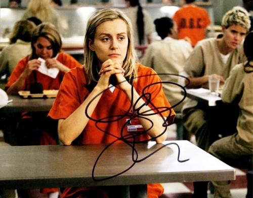 Taylor Schilling Signed - Autographed Orange is the New Black 8x10 inch Photo - Guaranteed to pass BAS as Piper Chapman