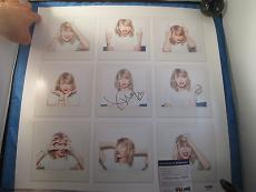 Taylor Swift 1989 Signed 17x17 Lithograph PSA DNA COA Autograph Blank Space