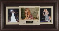 Taylor Swift Autographed Photo Framed Display