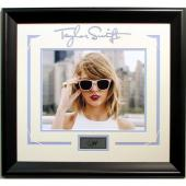 Taylor Swift Framed Laser Signature