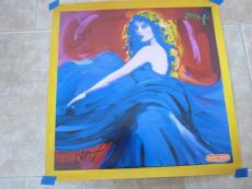 Taylor Swift & Peter Max Dual Signed Autograph Speak Now Poster Psa Guaranteed