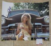 Taylor Swift Sexy Huge 16x20 Signed Autographed Promo Photo PSA Certified