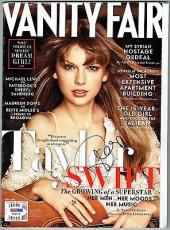 Taylor Swift Signed Authentic Autographed Vanity Fair Magazine PSA/DNA #W36078