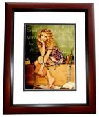 Taylor Swift Signed - Autographed Sexy Pop Singer Songwriter 8x10 inch Photo MAHOGANY CUSTOM FRAME - Guaranteed to pass PSA or JSA