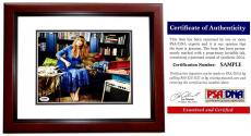 Taylor Swift Signed - Autographed Sexy Pop Singer Songwriter 8x10 inch Photo MAHOGANY CUSTOM FRAME - PSA/DNA Certificate of Authenticity (COA)