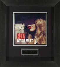 Taylor Swift Signed Red Album Flat Framed Display