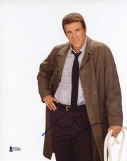 """Ted Danson Autographed 8""""x 10"""" Becker Leaning on Chair Photograph - BAS COA"""