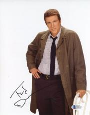 """Ted Danson Autographed 8""""x 10"""" Becker Leaning on Chair Photograph With Black Ink - BAS COA"""