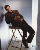"""Ted Danson Autographed 8""""x 10"""" Becker Sitting in Chair Photograph - BAS COA"""