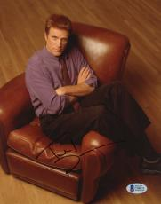 """Ted Danson Autographed 8""""x 10"""" Becker Sitting in Leather Chair Photograph - BAS COA"""