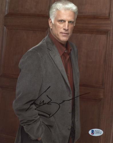 "Ted Danson Autographed 8""x 10"" CSI: Cyber Posed Photograph - BAS COA"