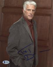 "Ted Danson Autographed 8""x 10"" CSI: Cyber Posed Photograph With Blue Ink - BAS COA"