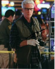Ted Danson Autographed CSI: Crime Scene Investigation 8x10 Photo