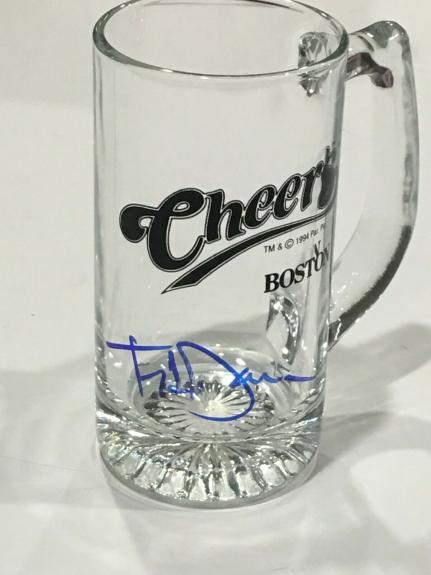 Ted Danson Cheers Beer Mug Sam Mayday Malone Boston Proof Jsa Coa