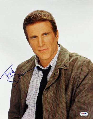 Ted Danson Cheers Signed 11X14 Photo Autographed PSA/DNA #K01253