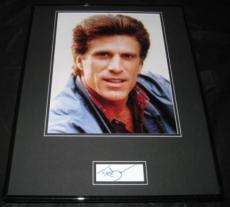 Ted Danson Cheers Signed Framed 16x20 Photo Display JSA