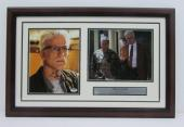 Ted Danson (D.B. Russell) CSI Signed Framed 8x10 Photo Collage PSA/DNA Y14741