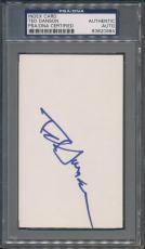 Ted Danson Index Card PSA/DNA Certified Authentic Auto Autograph Signed *0984