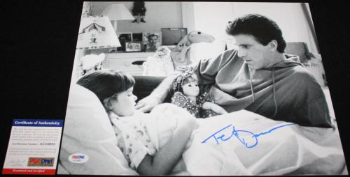 Ted Danson signed 11 x 14, CHEERS, Three Men a Baby, CSI, Boston, Proof, PSA/DNA
