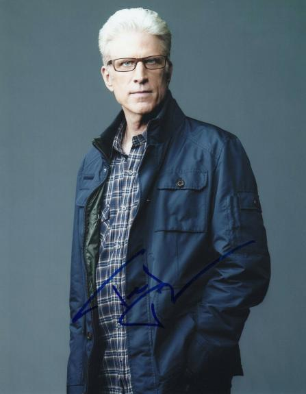 Ted Danson Signed 8x10 Photo w/COA Cheers Sam Three Men and a Baby Jack