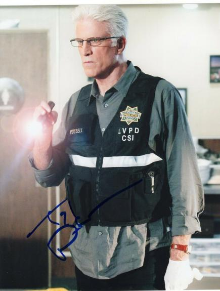 Ted Danson Signed 8x10 Photo w/COA Cheers Sam Three Men and a Baby Jack #2