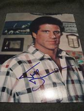 TED DANSON SIGNED AUTOGRAPH 8x10 PHOTO CHEERS PROMO PORTRAIT IN PERSON COA RARE