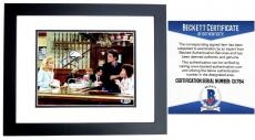 Ted Danson Signed - Autographed CHEERS - Sam Malone 8x10 inch Photo BLACK CUSTOM FRAME - Beckett BAS Certificate of Authenticity (COA) Not PSA JSA