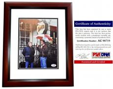 Ted Danson Signed - Autographed CHEERS - Sam Malone 8x10 inch Photo - MAHOGANY CUSTOM FRAME - PSA/DNA Certificate of Authenticity (COA)