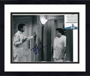 TED DANSON signed (CHEERS) Sam Malone TV Show 8X10 photo BECKETT BAS V76367