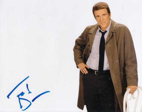 """TED DANSON signed (CHEERS) TV SHOW 8X10 photo W/COA *SAM """"MAYDAY"""" MALONE* #2"""