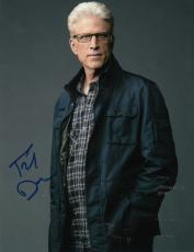 Ted Danson signed CSI Crime Scene Investigation 8x10 photo w/coa D.B Russell