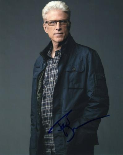 Ted Danson Signed CSI Crime Scene TV Show 8x10 Photo w/COA Autographed #1
