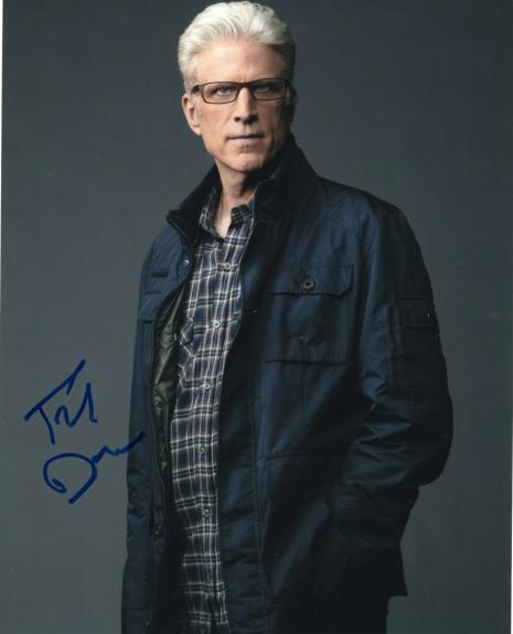 Ted Danson Signed CSI Crime Scene TV Show 8x10 Photo w/COA Autographed